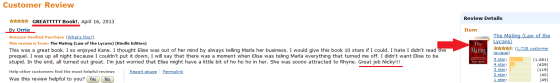 Here it is - her review of a different 'rape' book